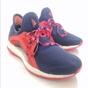 Adidas Boost Pureboost X AQ6680 Purple Pink White